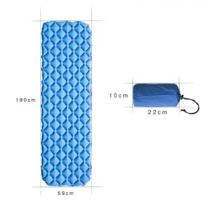 FREE SHIPPING Ultralight Portable Air Mattress Inflatable Bed for Tent Sleeping Pad Air Bed Moistureproof Air