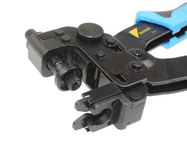 FREE SHIPPING HT-510B Professional Compression Crimping Tool for F, BNC, RCA, connectors on RG59, RG6 coaxial cable bnc