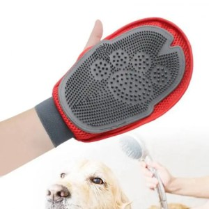 FREE SHIPPING KEMISIDI Cat Glove for Animals Combing Cats Grooming Hackle Excellent Red Silicon Pet Massager Hair Removal Mitten Accessories Brush