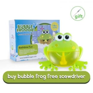 FREE SHIPPING Frog Crabs Baby Bath Toy Soap Machine Bubble Maker Baby