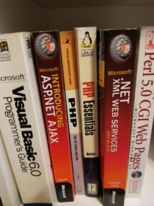 Visual Basic 6.0 Programmer's Guide, along with PHP and Perl books on sadukie's bookshelf