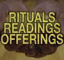 Spiritual Rituals, Spiritual Readings, and Offerings