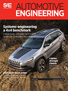 Automotive Engineering:  June 3, 2014
