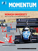 Momentum, the Magazine for Student Members of SAE International 2014-02