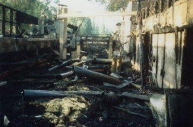 Brand Sägewerk Försch 2001