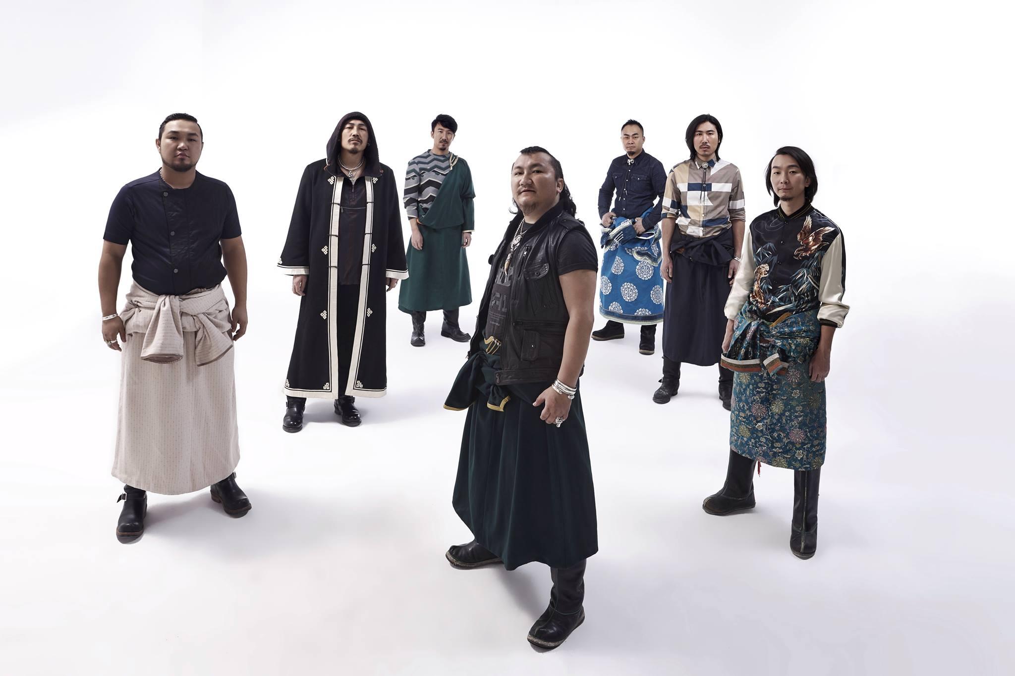 L to R: Ailun (Allen) - Yilalata (Ileta/Sheng Li) - Meng Da - Hurizha (Hurcha) - Niu Xin - Batubagen (Bagen) - Yiliqi (Ilchi).