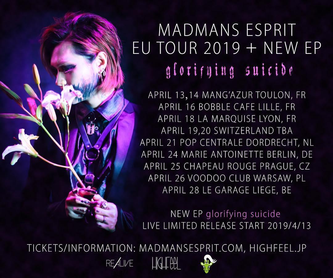 madman tour erope