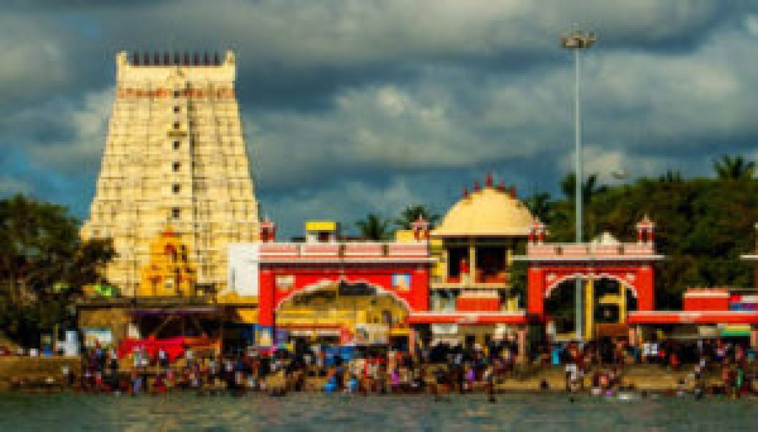 Rameshwaram Temple, which is dedicated to Lord Shiva