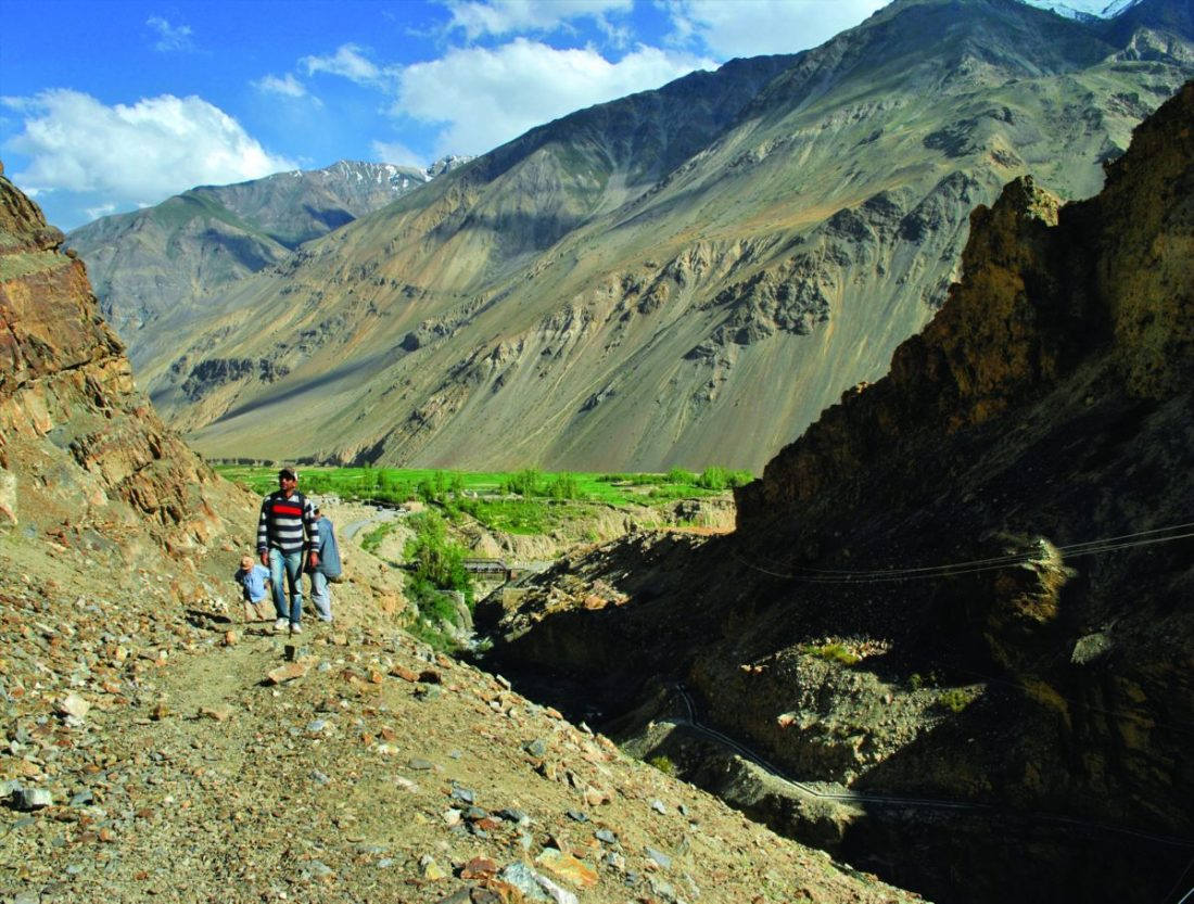 On the trail for ancient rock art in Spiti, known to be one of the least populated regions in India and the gateway to the northernmost reaches of the nation.