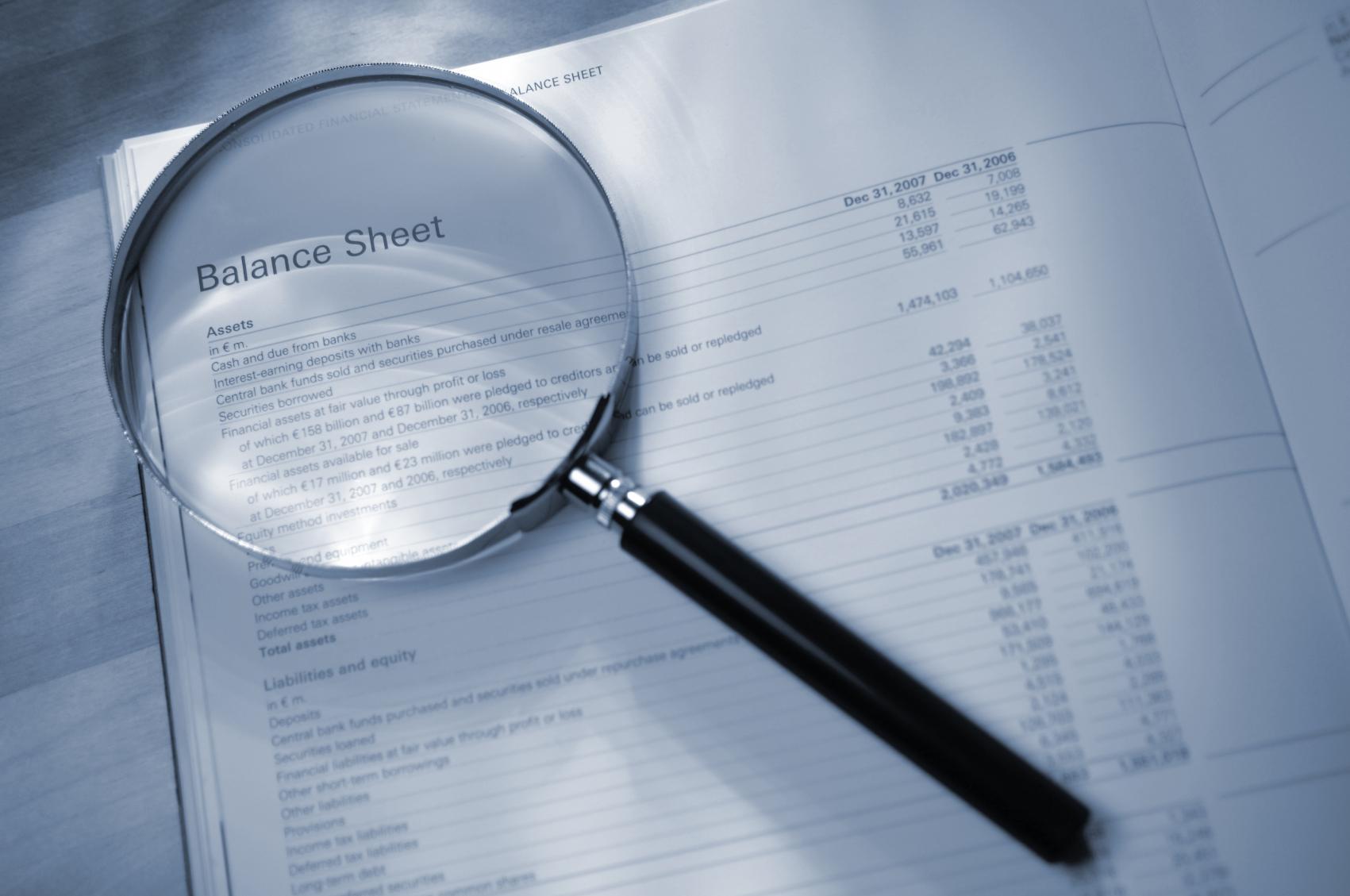balance sheet free download