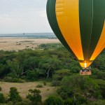Safari balloon has a 'cockpit' for the pilot in addition to 4 compartments for the passengers