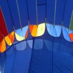 To make the most of the ride a hot air balloon safari is best when the weather is calmest at sunrise