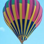 To make the most of the ride hot air balloon safaris are best done when the weather is calmest at sunrise