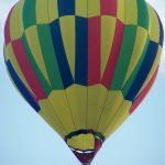 To make the most of the ride hot-air balloon safaris are best done when the weather is calmest at sunrise