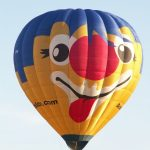 Initially hot-air balloons without passengers were sent up