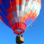 Hot air balloon rides are best done during the beautiful morning light