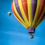 Hot-air balloon safaris are best during the beautiful morning light at sunrise when the weather is calmest
