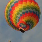 Children who go on hot air balloon safaris must have a minimum height of 1.1 m but infants are not permitted