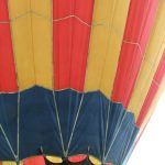 Fabric bags filled with hot air that are called hot air balloons were invented in France in 1783