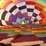 Hot air balloons were invented in 1783 in France
