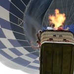 To make the most of the ride a hot air balloon safari is best done at sunrise