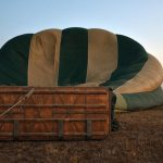To make the most of the ride a hot air balloon safari is best at sunrise when the weather is calmest