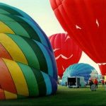To make the most of the ride hot-air balloon safaris are best done at sunrise when the weather is calmest