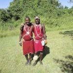 Masais are warriors