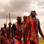 Maasai tribe live in enclosures called Enkang which contains ten to twenty small huts