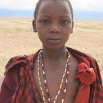 The Masai God is called Enkai or Engai