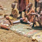 Traditionally Masais do not bury their dead