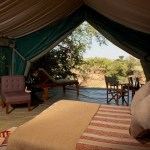 Traditional luxury camp blends international sophistication with African beauty