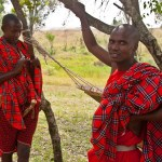 Maasais live mainly in the game parks of East Africa