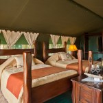 Each luxury tent is uniquely-presented