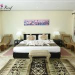 Rooms are elegant and regally designed