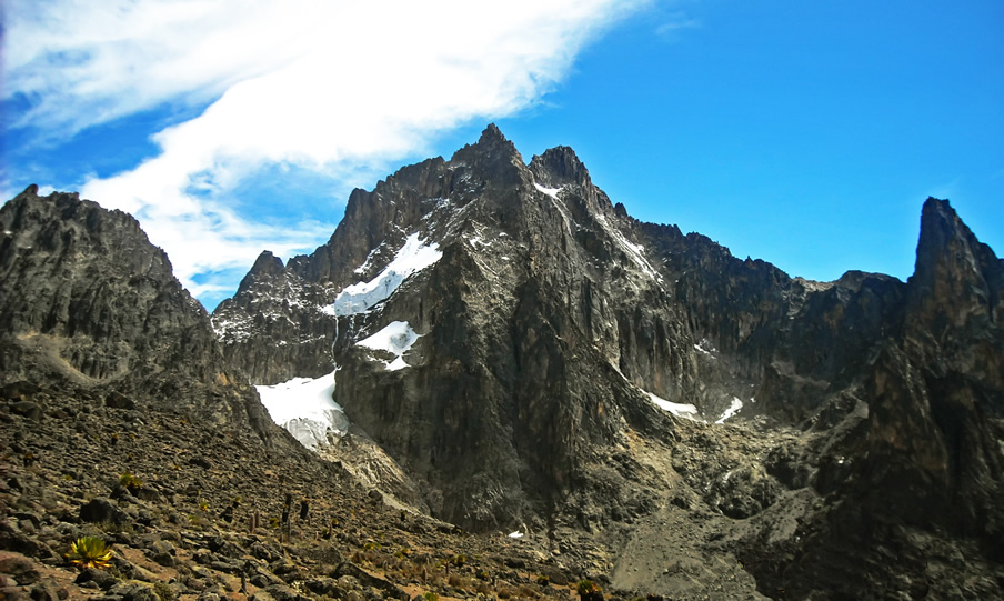 Mt Kenya / Picture courtesy of KWS