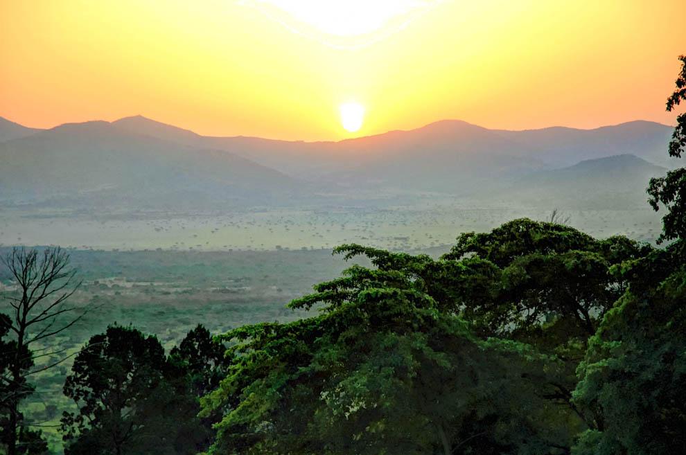 Ruma National Park_sunset