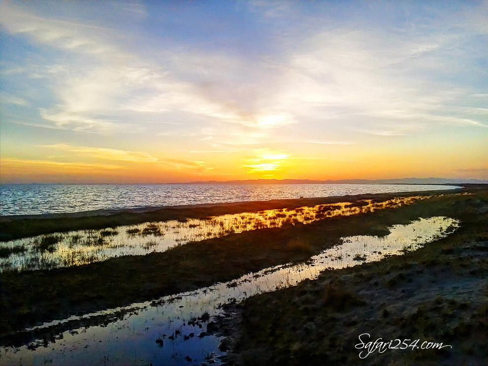 Koobi Fora Camp_Lake Turkana Sunset