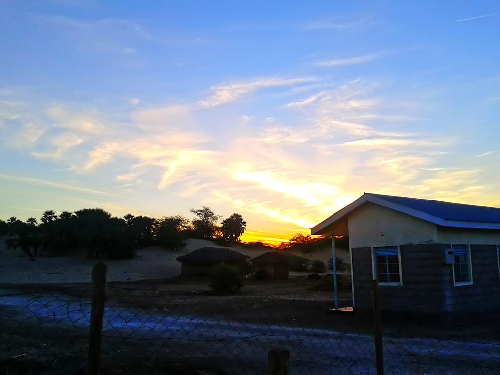 North Horr_ sunrise near hq