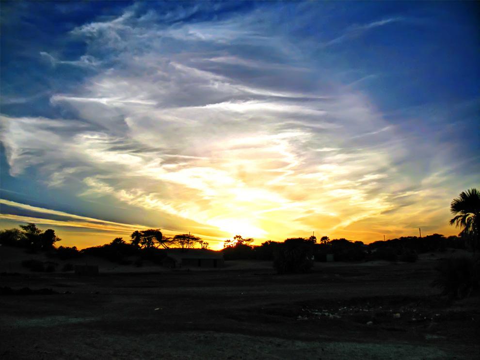 North Horr_dramatic sunrise