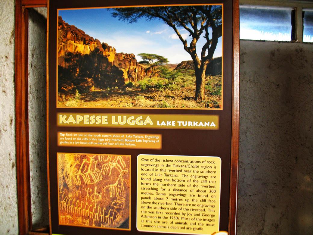 Loiyangalani Desert Museum_info board_kapesse lugga