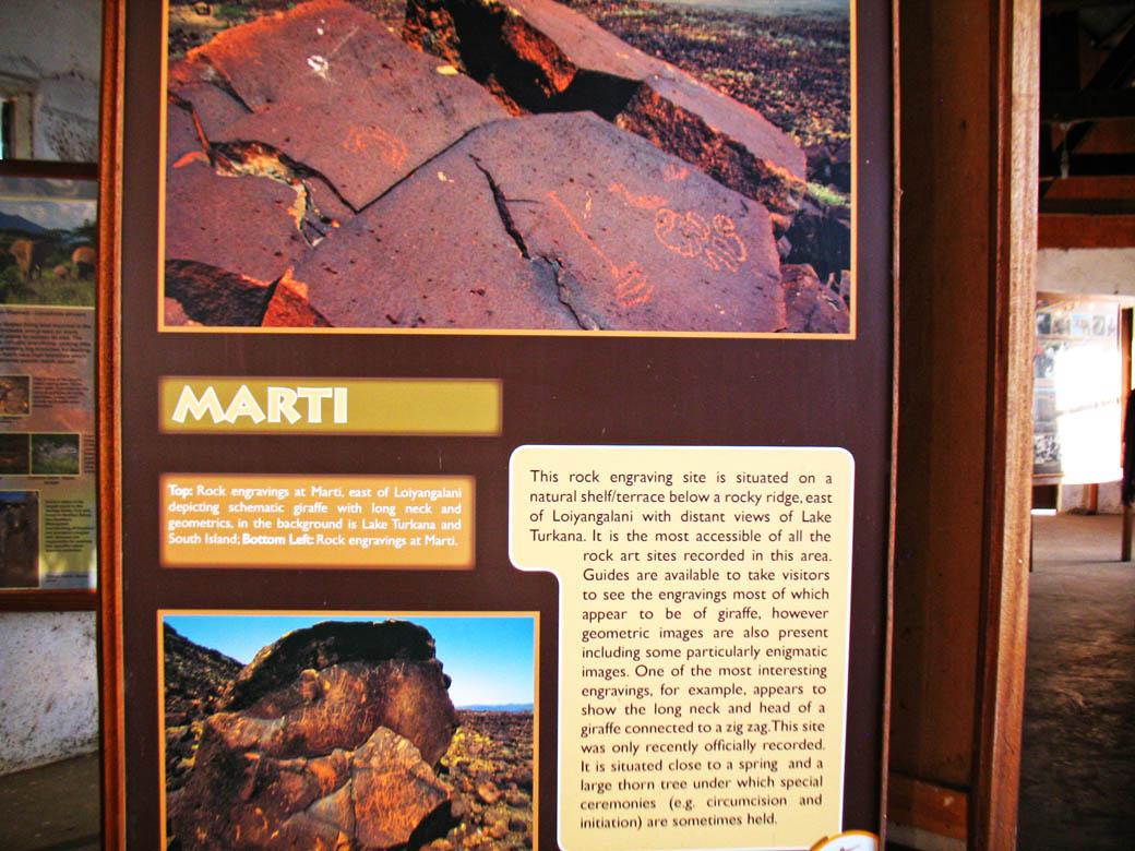 Loiyangalani Desert Museum_info board_marti