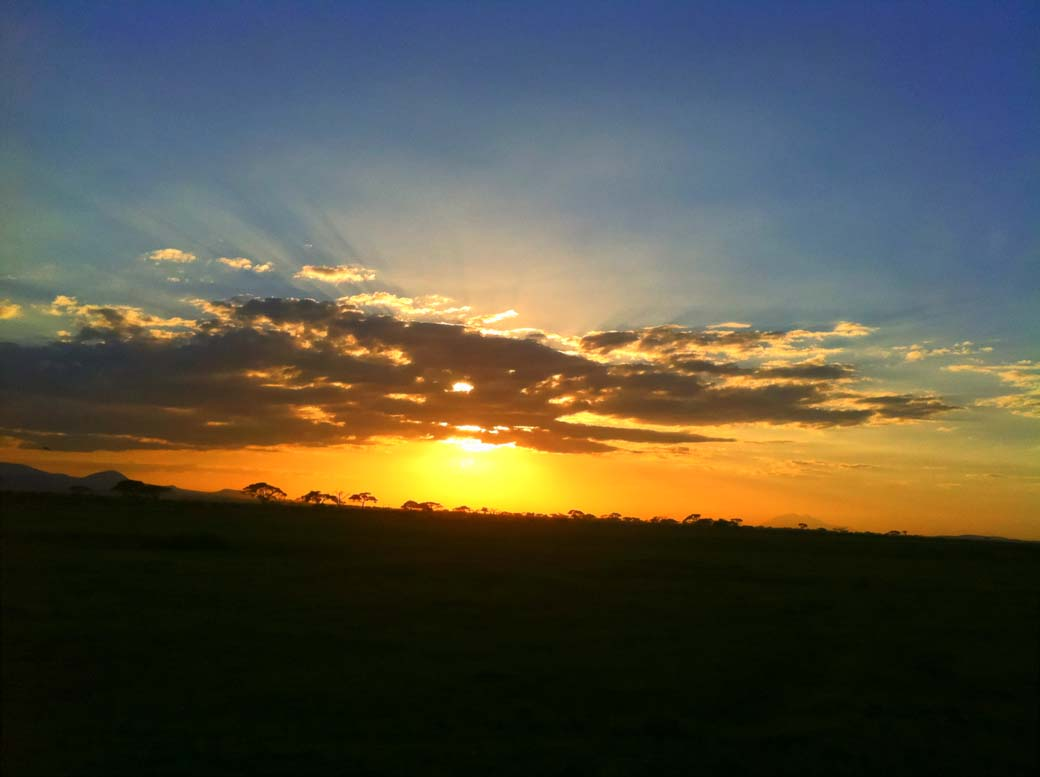 Amboseli National Park_Sunset3