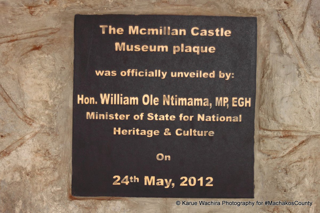 MacMillan Castle_plaque