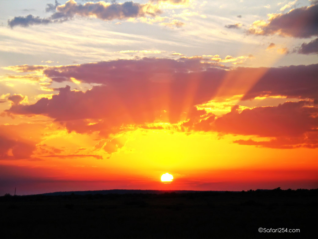Northern Kenya_sunset