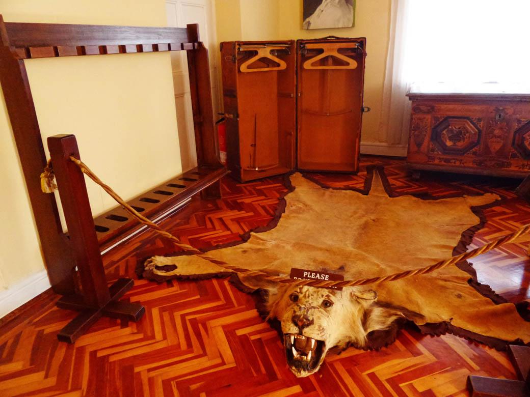 Karen Blixen Museum_Baron Blixen's bedroom