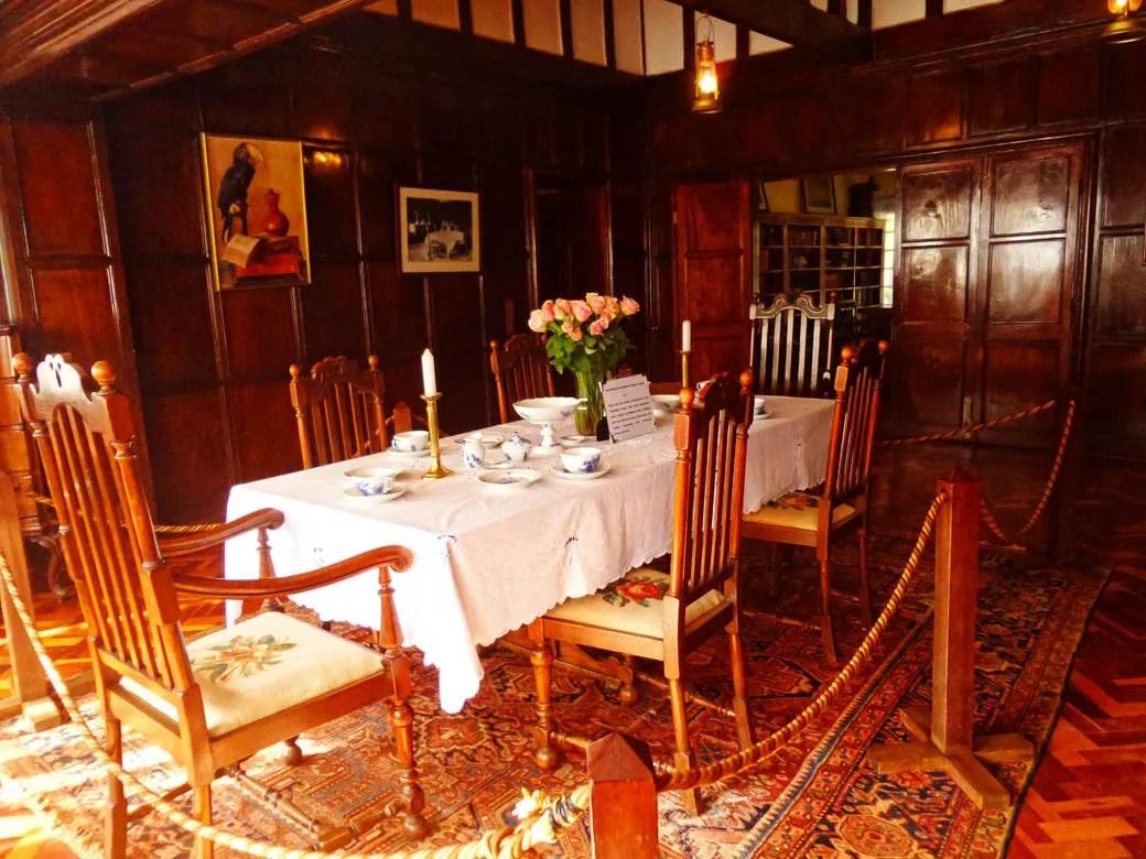 Karen Blixen Museum_Dining Room1