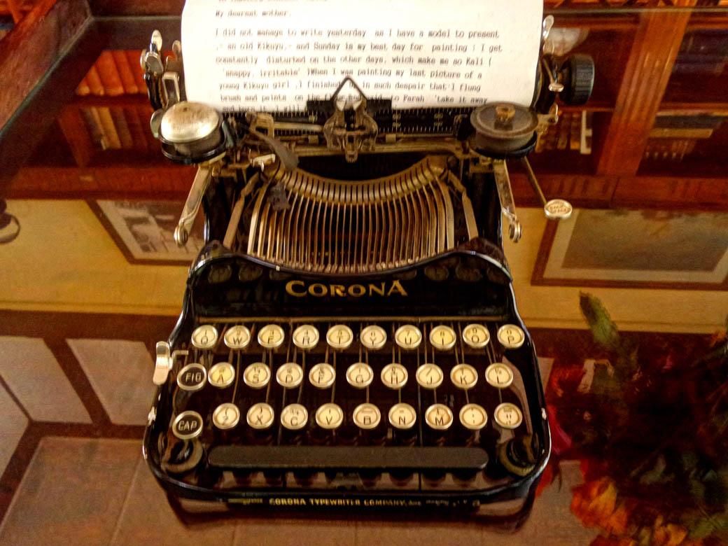Karen Blixen Museum_Typewriter