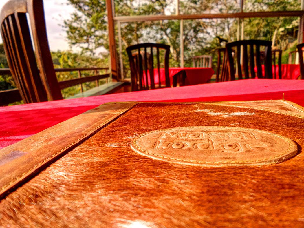 Masai Lodge_Menu