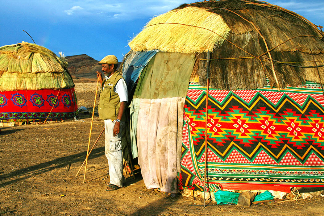 Nothern Kenya People and Places_Gabbra hut